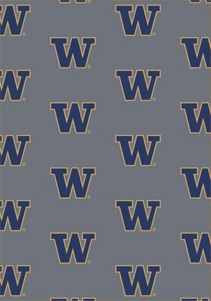 """Washington Huskies 5' 4"""" x 7' 8"""" Team Repeat Area Rug"""