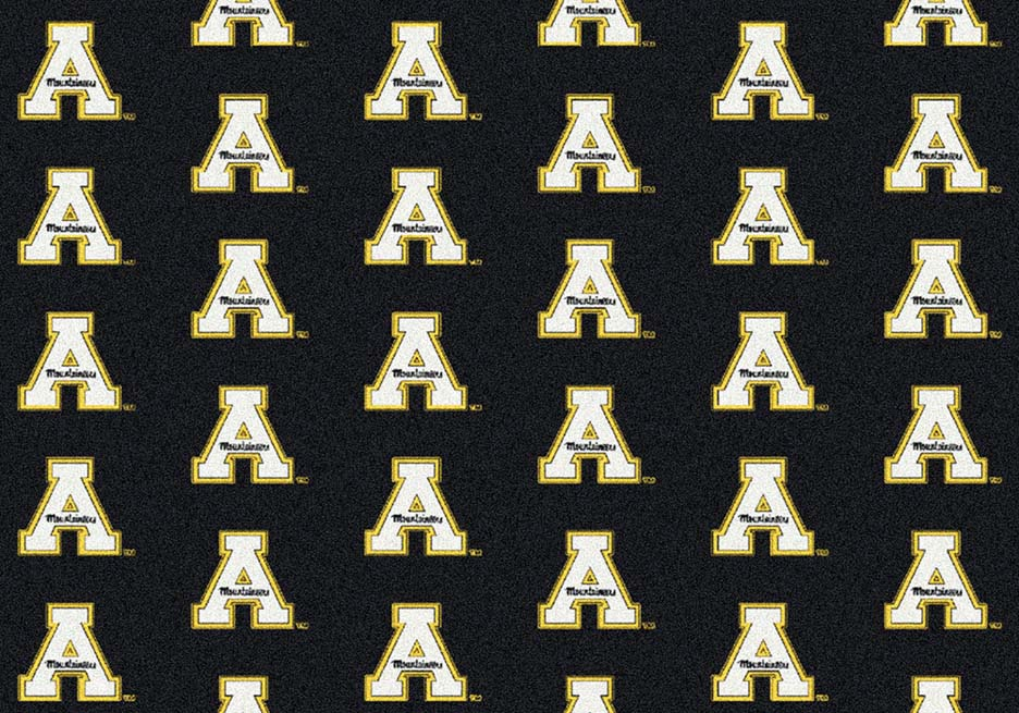 "Appalachian State Mountaineers 3' 10"" x 5' 4"" Team Repeat Area Rug"