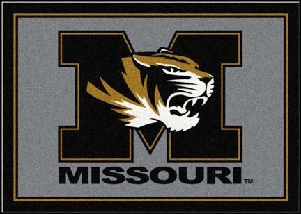 Missouri Tigers 4' x 6' Team Door Mat