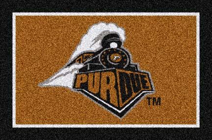 Purdue Boilermakers 5' x 8' Team Door Mat