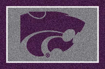Kansas State Wildcats 5' x 8' Team Door Mat