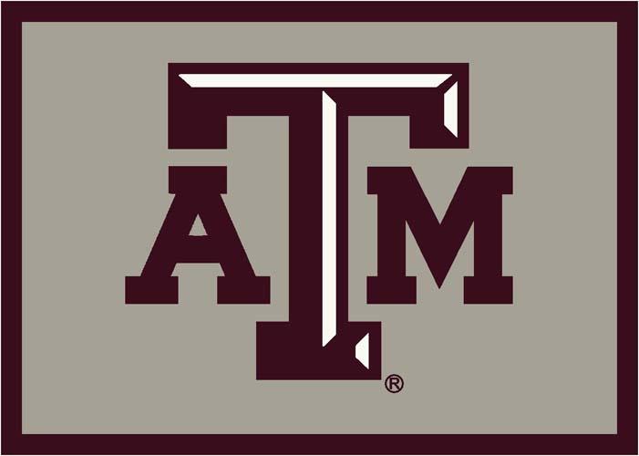 Texas A & M Aggies 5 x 8 Team Door Mat