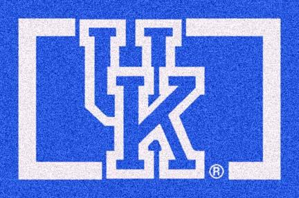 Kentucky Wildcats (Horizontal) 4' x 6' Team Door Mat