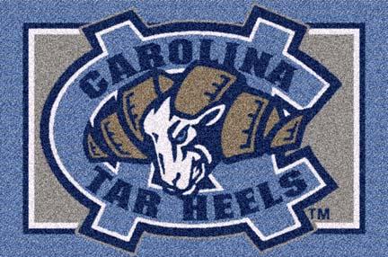 "North Carolina Tar Heels 33"" x 45"" Team Door Mat"