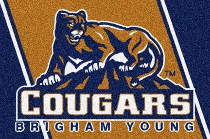 Brigham Young (BYU) Cougars 5' x 8' Team Door Mat