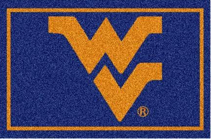 West Virginia Mountaineers 5' x 8' Team Door Mat