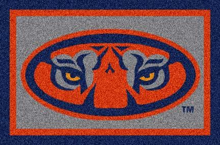 Auburn Tigers (Tiger Eyes) 4' x 6' Team Door Mat