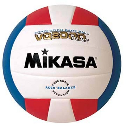 MicroCell Premier VQ2000 Volleyball Red / White / Blue from Mikasa