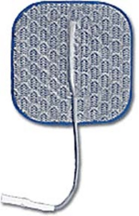 """2"""" x 2"""" Square PALS® Platinum Blue Series Electrodes - Package of 4"""