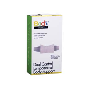 Body Sport® Dual Control Lumbosacral Body Support (2X-Large)