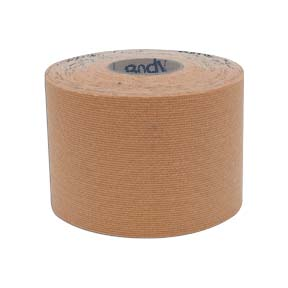 """2"""" x 5 1/2 yd. Body Sport® Physio Tape (Natural)"""
