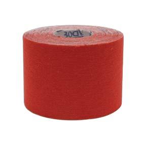 "2"" x 5 1/2 yd. Body Sport® Physio Tape (Red)"