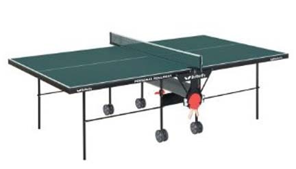 Green Butterfly Personal Rollaway Table Tennis Table from Butterfly (Green) MKP-TR21