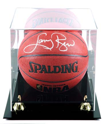 Golden Classic New Basketball Display Case