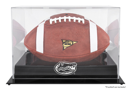 Florida Gators Black Base Logo Football Display Case MM-DISPF4FLOR