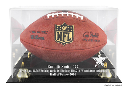 Emmitt Smith Dallas Cowboys 2010 Hall of Fame Golden Classic Football Case MM-DISPFBSMIT
