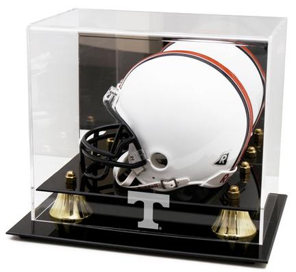 Tennessee Volunteers Logo Golden Classic Mini Helmet Display Case