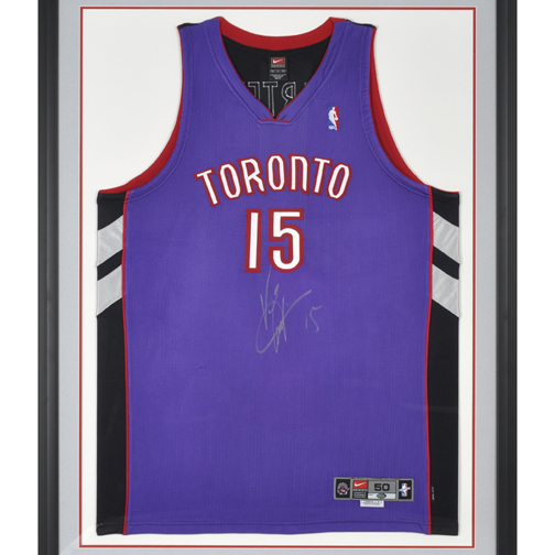 promo code 9e18f 217ef Vince Carter Autographed Jersey Products On Sale