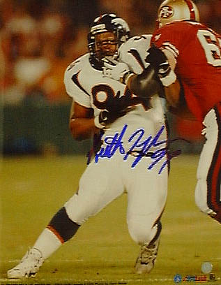 "Keith Traylor Denver Broncos Autographed 8"" x 10"" Photograph (Unframed)"