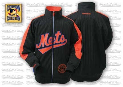 New York Mets Change Up Track Jacket from Mitchell and Ness