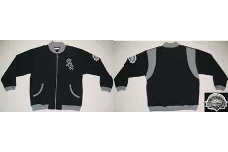 Chicago White Sox MLB Inspired Warm Up Jacket from Mitchell and Ness