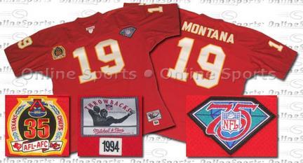 1994 Scarlet Throwback Jersey