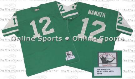 1968 New York Jets Jersey