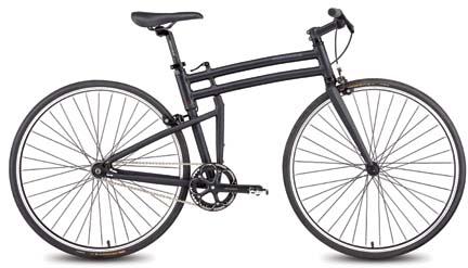"""Montague Boston 21"""" Pavement Folding Bike"""