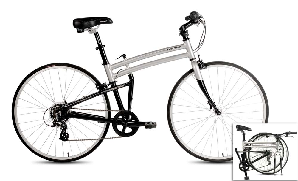 Click here for Montague Crosstown Comfort Folding Bike 17 Pavemen... prices