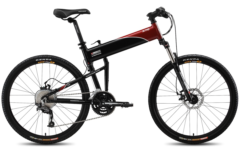 "Montague SwissFolding Bike X70 18"" Mountain Folding Bike (26"" Wheels)"