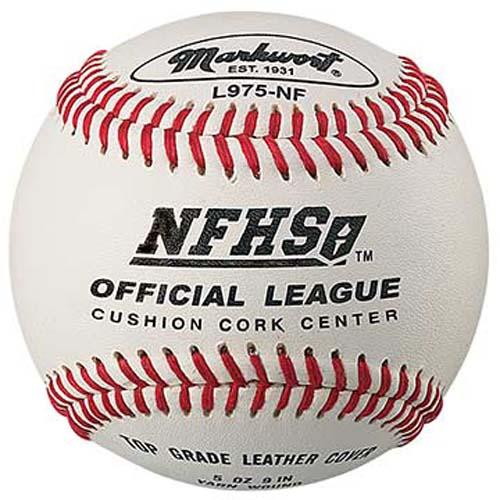 Pro Premium Quality NFHS Baseballs from Markwort - One Dozen