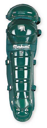 """17"""" Intermediate Size Double Knee Cap Leg Guards with Wings from Markwort - One Pair"""
