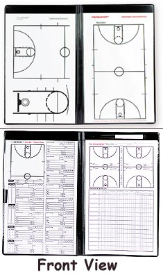 Basketball Magnetic Portfolio Boards from Coacher