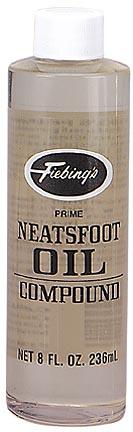 8 fl. oz. Fiebing's Neatsfoot Oil Shoe Protector - 1 Dozen Bottles