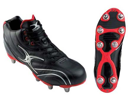 Sidestep Zenon Mid Cut Rugby Shoes from Gilbert - 1 Pair