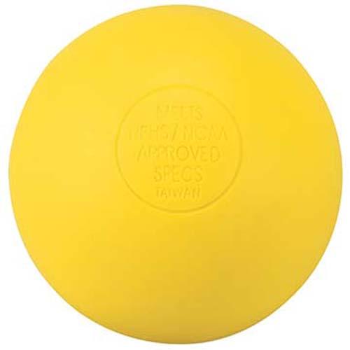 Markwort Yellow Lacrosse Balls - 1 Dozen