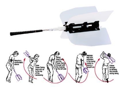 Markwort Power Swing Golf Training Aid MW-MWGPWRS