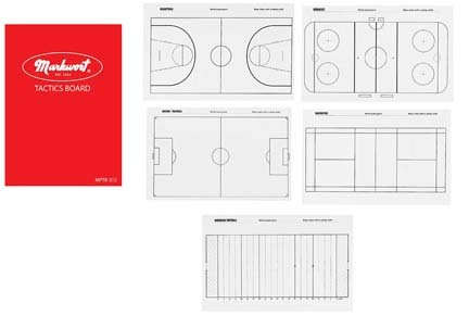 Buy badminton directory - Markwort Multi-Purpose Tactics Board Folder