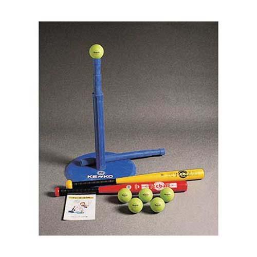 First Steps Baseball Tee Ball Set from Kenko