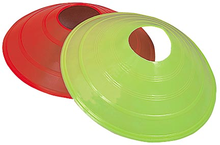 """2"""""""" High Field Marker Disc Cones from Markwort - Set of 24"""" MW-PE2FM"""