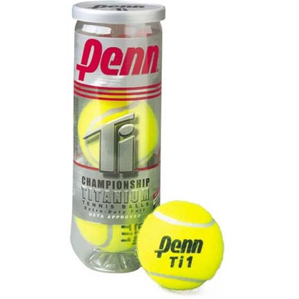 Penn Championship Titanium Extra Duty Tennis Balls - 3 Cans