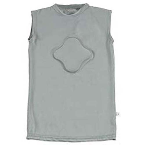 Heart-Gard Protective Body Shirt (Adult Sized Guard - GREY - Clamshell Package)