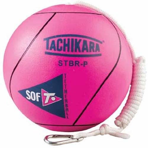 Tachikara Official Size Super Soft Tetherball - Fluorescent Pink