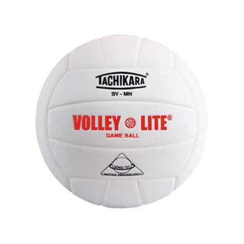 "Tachikara ""Volley-Lite"" Sensi-Tec Composite Leather Volleyball (White)"