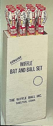 Wiffle Baseball with Bat Sets from Wiffle - (One Dozen Sets)