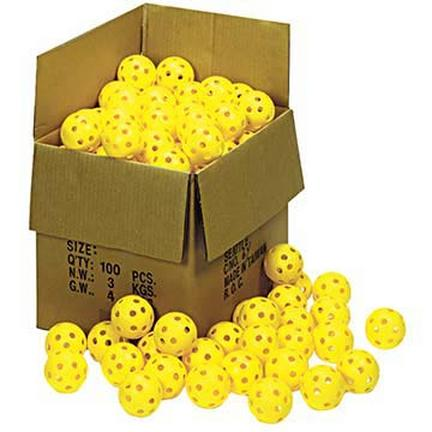 """9"""" Harder / Firmer Plastic Balls from Markwort - Set of 100"""
