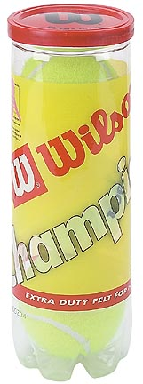 Wilson High Altitude Extra Duty Championship Tennis Balls - 3 Cans