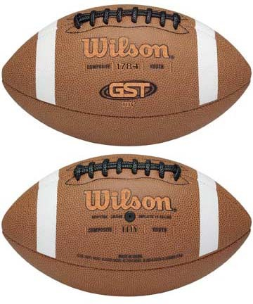 GST™ Composite TDY™ Youth Football from Wilson
