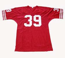 Hugh McElhenny, San Francisco 49ers  Authentic Throwback Football Jersey