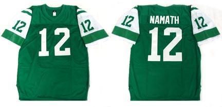 Joe Namath Football Jersey
